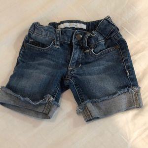 Girl size 2 Joe's Jeans Jean Shorts